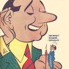 Türk Mizah Tarihinin En Uzun Soluklu Dergisi Akbaba'da Yayınlanan Siyasi Karikatürler