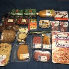 Hollanda'da Yapılan Bir Market Alışverişi Fişi ve Muadil Ürünlerin Türkiye Kıyası