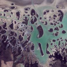 Google Earth'teki Tablo Gibi Türkiye Manzaraları