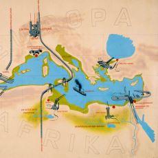 Akdeniz'i Kısmen Boşaltıp Afrika ile Avrupa'yı Birleştirme Projesi: Atlantropa