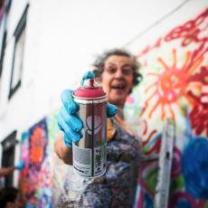 Portekiz'de 65 Yaşında Graffiti Yapan Teyzeler