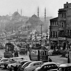 1959 Yılında Bir Arabanın Arkasına Yerleştirilen Kameranın Çektiği İstanbul Görüntüleri