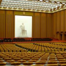 Kuzey Kore'nin İnsanlığın Üzerine Güneş Gibi Doğan Aşırı Demokratik Meclisi