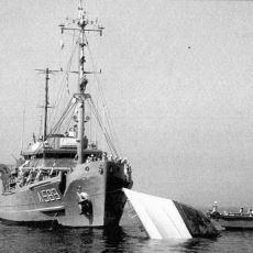 Sovyet Askeri Gemisinin Çarpması Sonucu Batan Türk Hücumbotu: TCG Meltem