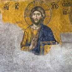 Ayasofya'nın Duvarını Süsleyen Dünyaca Ünlü Deisis Mozağinin Anlamı