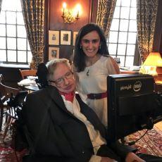Harvard'da Stephen Hawking'i Ağırlayan Türk Bilim İnsanı: Canan Dağdeviren