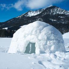 Kışın Doğada Mahsur Kalındığında Donmaktan Kurtaran Kar Mağarası ve İglo Yapımı