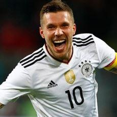 Üstün Alman Teknolojisi Lukas Podolski, Alman Milli Takımına Efsane Bir Golle Veda Etti
