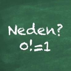 0 Faktöriyel Neden 1'e Eşittir?