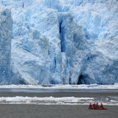 Şehir Büyüklüğündeki Buzulun 75 Dakikada Erimesi