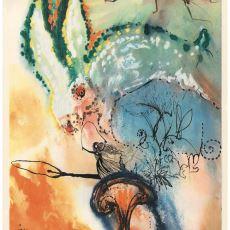 Salvador Dali'nin Rüya Gibi Resimleriyle Süslenen Alice Harikalar Diyarında Kitabı
