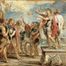 Konstantinopolis'in Kurucusu I. Konstantin'in Roma'yı Fethetme Hikayesi