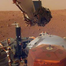 NASA'nın Uzay Aracı InSight'ın Gönderdiği, Mars'ta Kaydedilen İlk Ses