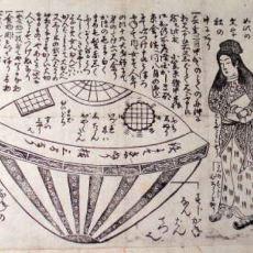 1800'lerde Japonya Sahillerine Vuran Tek Yolculu Tuhaf Kayık