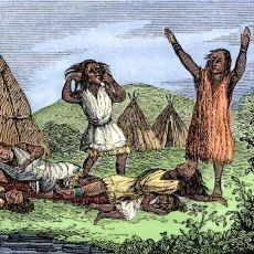 Amerikan Yerlilerinin Çoğunun Avrupalıların Getirdiği Hastalıklar Yüzünden Ölmesi