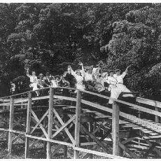 1800'lerde Yapılmış Dünyanın İlk Roller Coaster'ından Görüntüler