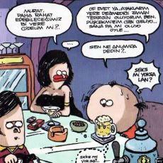 Uykusuz Dergisi Çizeri Uğur Gürsoy'un Komediyi Naiflikle Birleştiren Karikatürleri