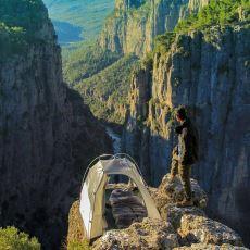 Antalya'da 2017'de Tesadüfen Keşfedilen Doğa Harikası: Tazı Kanyonu