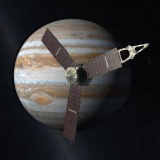 Beklenen Gün Geldi Çattı: NASA'nın Uzay Aracı Juno, Jupiter'in Yörüngesine Yerleşiyor