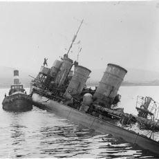 Gemileri Müttefikler Tarafından Paylaşılmasın Diye Kendi Kendini Batıran Alman Donanması