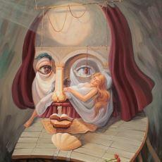 Tarihten Ünlü İsimlerin Portrelerini Kendine Has Tekniğiyle Çizen Ressam Oleg Shuplyak'ın Çalışmaları
