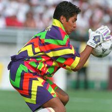 1.75 Boyu ve Kör Eden Formalarıyla 2 Dünya Kupası Gören Efsane Kaleci: Jorge Campos
