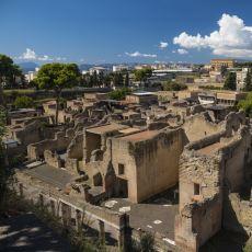 Vezüv Yanardağı'nın Patlamasıyla Tarihe Karışan Bir Başka Şehir: Herculaneum