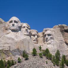 Yaklaşık 400 Kişinin 14 Senede Tamamladığı ABD'nin Sembol Yapısı: Rushmore Dağ Anıtı