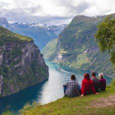 Norveç'e Giden Turistlerin Uzun Zahmetlere Katlanıp Görmek İstediği Yer: Geiranger Fiyordu