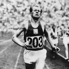 1952 Olimpiyatları Performansıyla 3 Uzun Mesafede Altın Madalya Kazanan Tek Atlet: Emil Zátopek