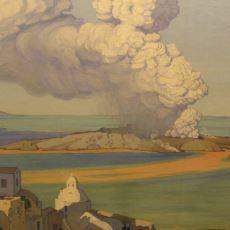 Şu Anda Santorini Adası'nda Tatil Yapabilmemizi Sağlayan Volkanik Patlama