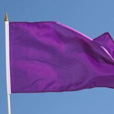 Ülkelerin Bayraklarında Mor Rengi Neden Pek Göremiyoruz?