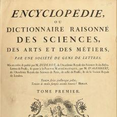 Fransız Devrimine de Önayak Olmuş Dünyanın İlk Genel Ansiklopedisi: Encyclopedie