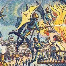 19. Yüzyıl'da 2000'li Yıllar Hayal Edilerek Yapılmış Muazzam Çizimler
