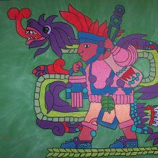Aztek İnancına Göre Tarım, Bereket, Yağmur ve Ölüm Tanrısı: Quetzalcoatl