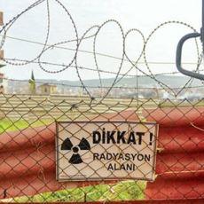 Gaziemir'de Yıllardır Zehir Saçtığı Halde İlgilenilmeyen Nükleer Atık