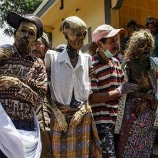Endonezya'daki Ölü Temizleme Festivali Ma'nene'ye Katılan Birinin Gözünden O Anlar