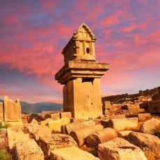 Halkının Teslim Olmak Yerine Kendini Yakarak İntihar Ettiği Antik Kent: Ksanthos