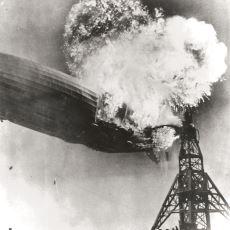 1937'de Hidrojenle Uçmaya Çalışırken Patlayarak 35 Kişiye Mezar Olan Zeplin: Hindenburg