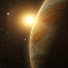 Jüpiter'in Ciddi Ciddi Güneş'in Etrafında Dönmüyor Olması
