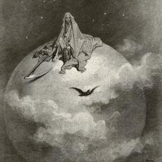 Edgar Allan Poe'nin Muhteşem Şiiri Kuzgun'un Gustave Dore İllüstrasyonlarıyla Anlatımı
