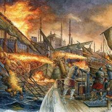 Bizans'ın Tam 800 Yıl Boyunca Kullandığı Sönmeyen Ateş: Grejuva (Rum Ateşi)