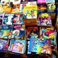 Taso Atmanın Nostaljik Versiyonu: Çizgi Romanların Üstüne Bozuk Para Atmak