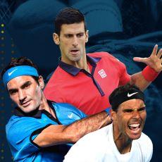 Tenis Tarihinin En İyi Üçlüsünün Kıyası: Federer vs Nadal vs Djokovic