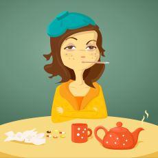Hastalandığımızda Neden Birdenbire İştahımız Kesiliyor?