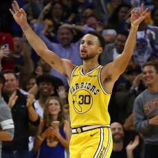 Stephen Curry'nin 3 Çeyrekte 51 Sayı Attığı Saçma Sapan Performansından Tadımlıklar
