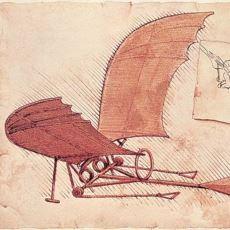 Leonardo da Vinci'nin Günümüzde Kullanılan Aletlerle İlgili Yaptığı İlk Tasarımlar