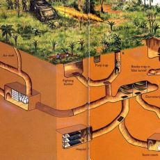 Vietnam Savaşında ABD Karargahlarına Sızma Aracı Olarak Kullanılan Cu Chi Tünelleri