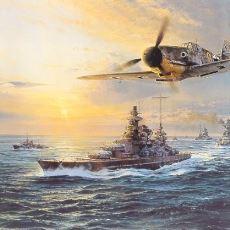Almanların, Tutsak Savaş Gemilerini Ülkesine Kaçırmaya Çalıştığı Cerberus Operasyonu