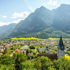 Doğusundan Batısına Yürümenin Sadece 3 Saat Aldığı, Avrupa'nın En Küçük Ülkelerinden Lihtenştayn